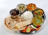 North Indian Veg Meals